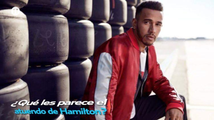 Lewis Hamilton se convierte en modelo de reconocida marca de ropa