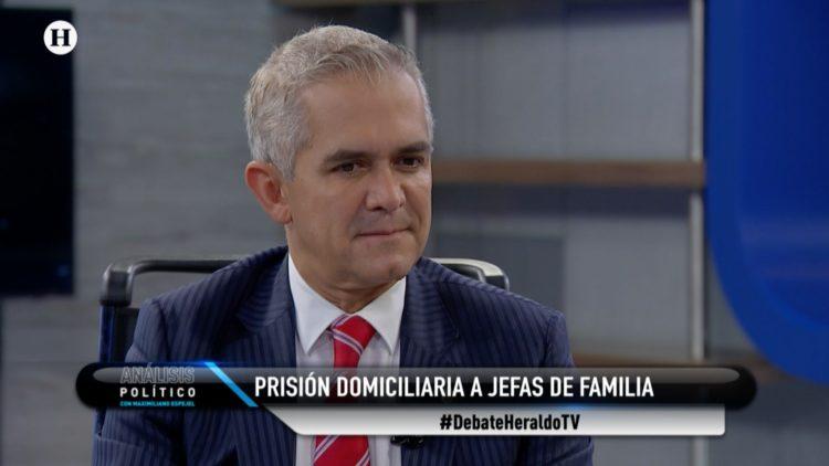 Miguel Ángel Mancera Prisión domiciliaria Análisis Político Maximiliano Espejel