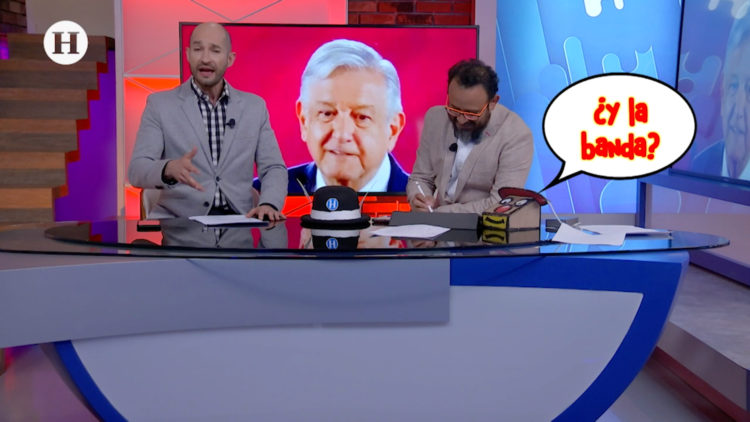 Meme News AMLO Banda presidencial
