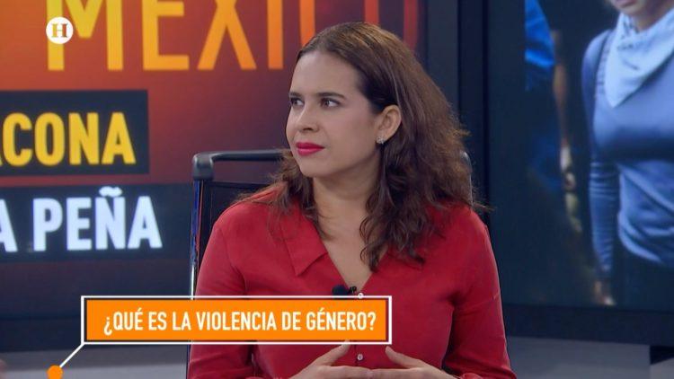 Mariana Villafuerte violencia de género El Heraldo TV Noticias de la noche