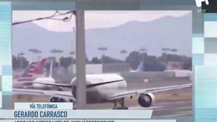 Construcción del aeropuerto de Santa Lucía