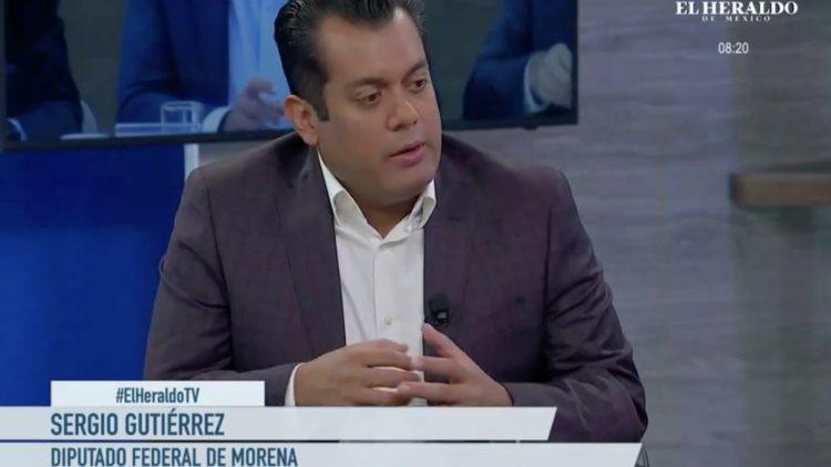 Sergio Gutiérrez, diputado de Morena en entrevista con Alejandro Cacho