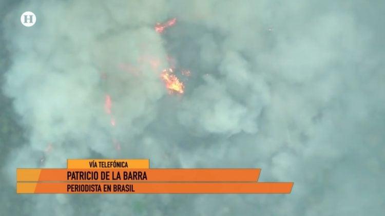 incendio Amazonas Brasil Noticias México