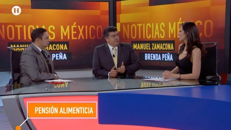 Julio Jiménez Noticias México pensión alimenticia