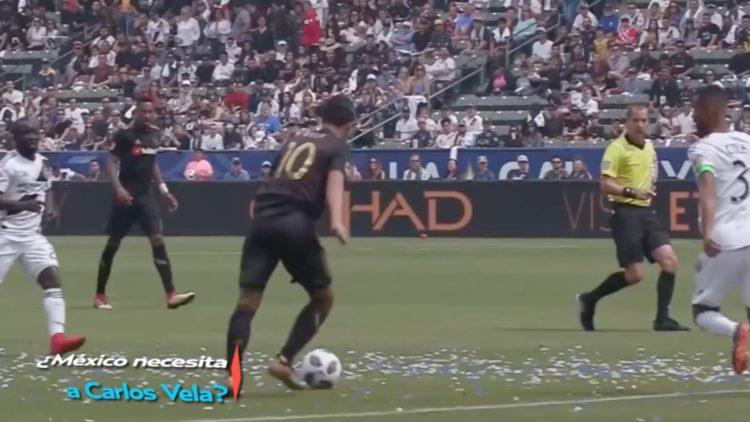 Carlos Vela hace golazo en la MLS y lo candidatean al Barcelona