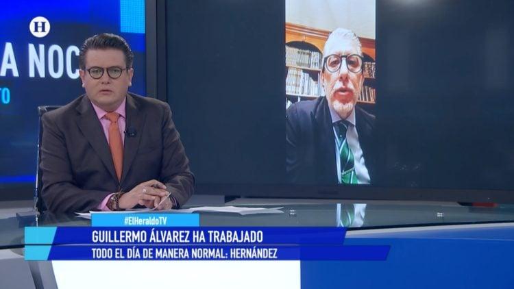 Jorge Hernández Cruz Azul Noticias de la noche El Heraldo TV