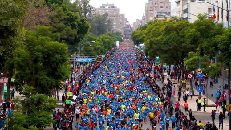 Maratón CDMX Zócalo CDMX