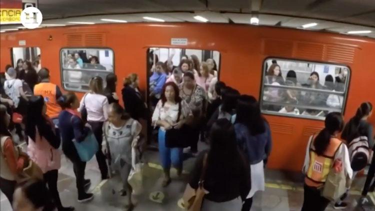 Metro 50 años transporte