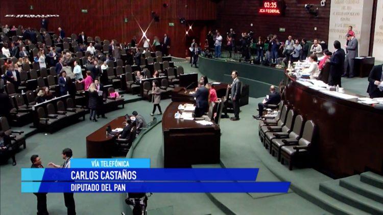 Mesa directiva PAN Carlos Castaño