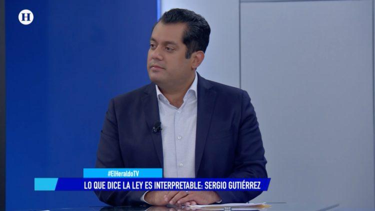 Sergio Gutiérrez Luna Morena El Heraldo TV Salvador García Soto
