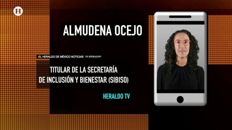 Almudena Ocejo SIBISO adultos mayores El Heraldo TV Noticias México