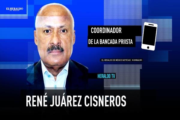 René Juárez CIsneros PRI El Heraldo TV Noticias de la noche