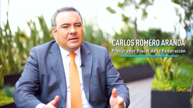 Senado de la República Carlos Romero defraudación fiscal