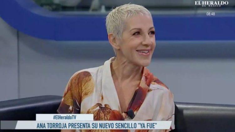 "Ana Torroja presenta su nuevo sencillo: ""Ya fue""."