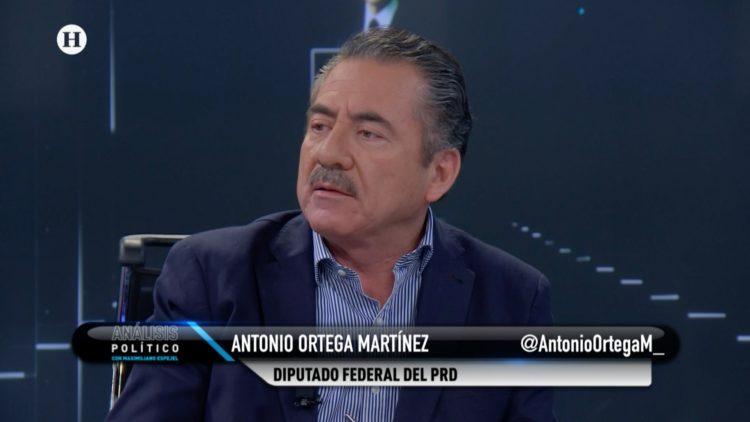 Antonio Ortega PRD Análisis Político Maximiliano Espejel El Heraldo TV