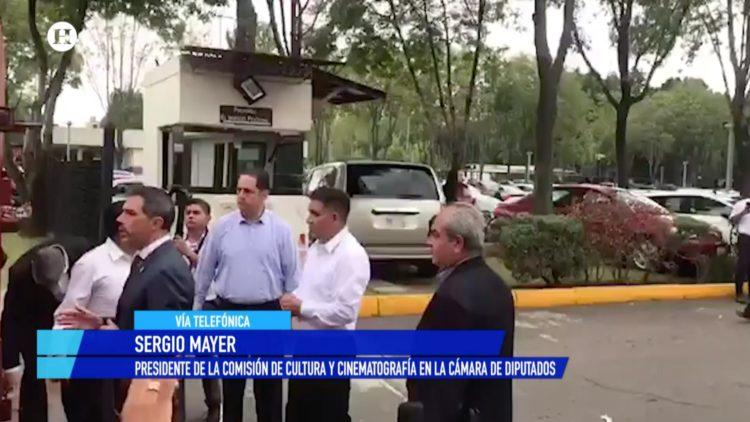 Sergio Mayer Cámara de Diputados El Heraldo TV Noticias de la noche Salvador García Soto
