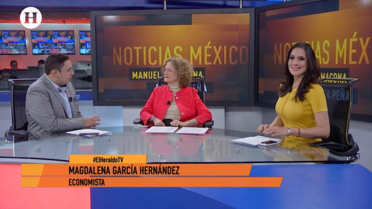 Magdalena García Hernández economía presupuestal 2020