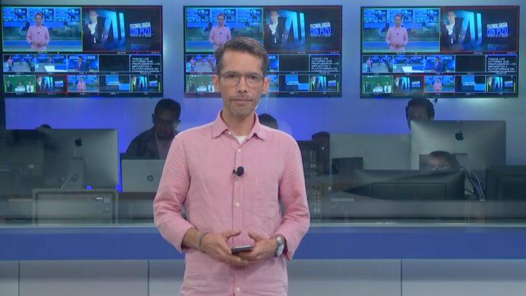 Emilio Saldaña _El Pizu_ El Heraldo TV Noticias de la noche Salvador García Soto