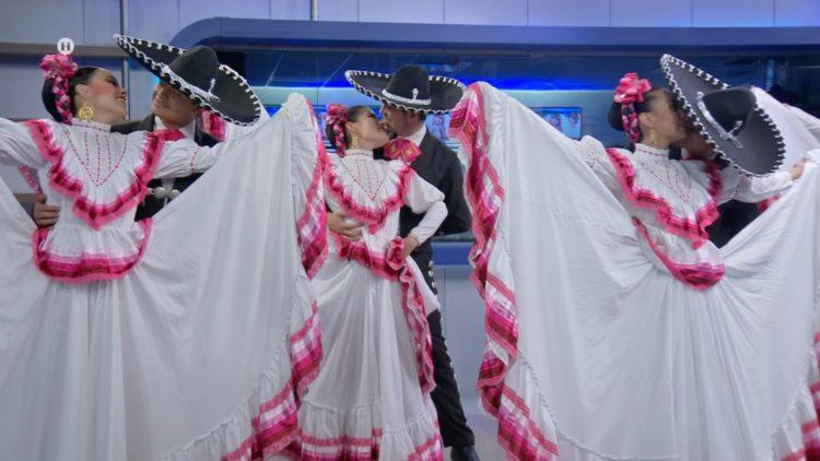Ballet Folklórico Alina Hernández El Heraldo TV Noticias de la noche Salvador García Soto