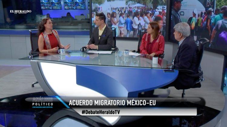 acuerdo migratorio Estados Unidos México Análisis Político El Heraldo TV