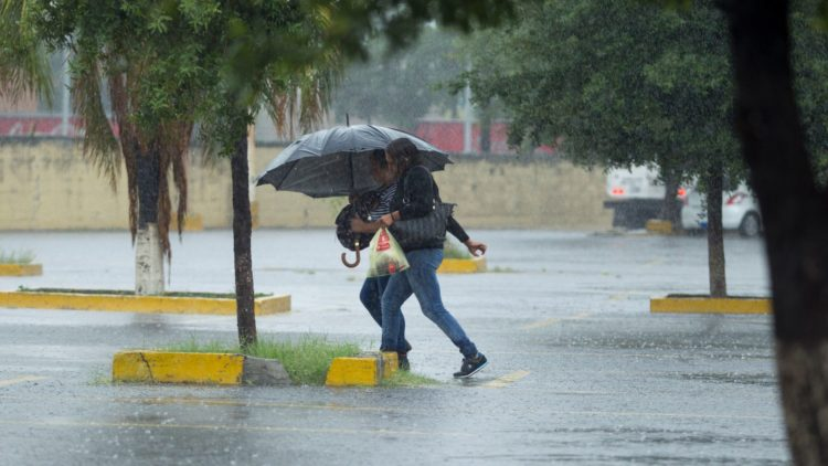 Las lluvias provocadas por Lorena