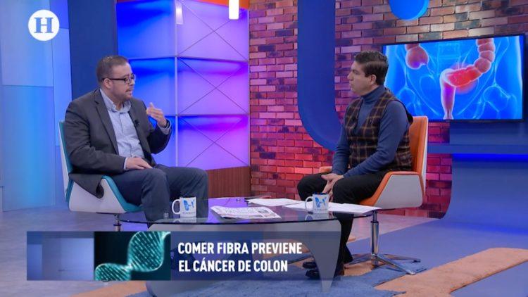 Luis Alberto Espino Urbina cáncer de colon