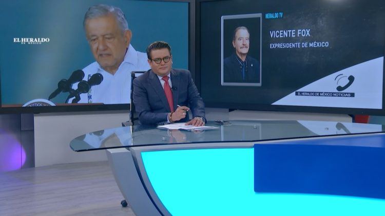 Vicente Fox El Heraldo TV PAN AMLO