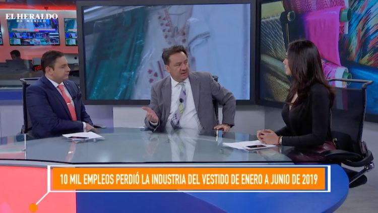 Crisis industria textil vestido Raúl García