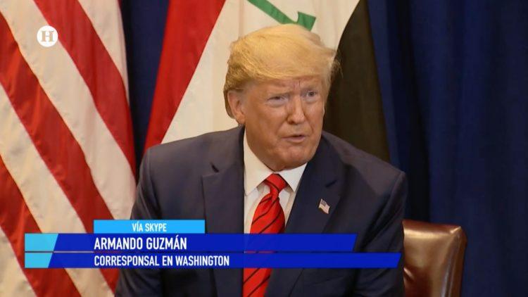 Donald Trump Armando Guzmán Estados Unidos El Heraldo TV Noticias de la noche