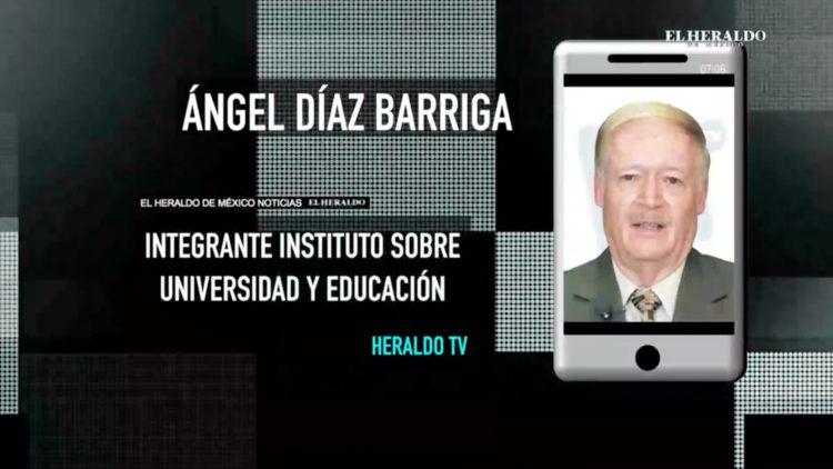 Ángel Díaz habla con Cacho sobre educación