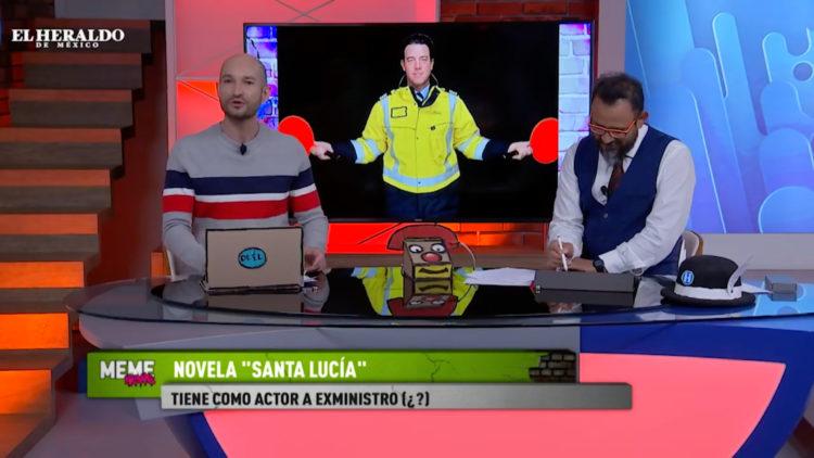 AMLO y José Ramón Cossío intervienen en Aeropuerto de Santa Lucía; memes circulan en redes sociales