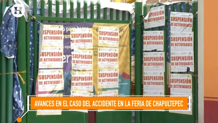 accidente Feria de Chapultepec Víctor Manuel Romo