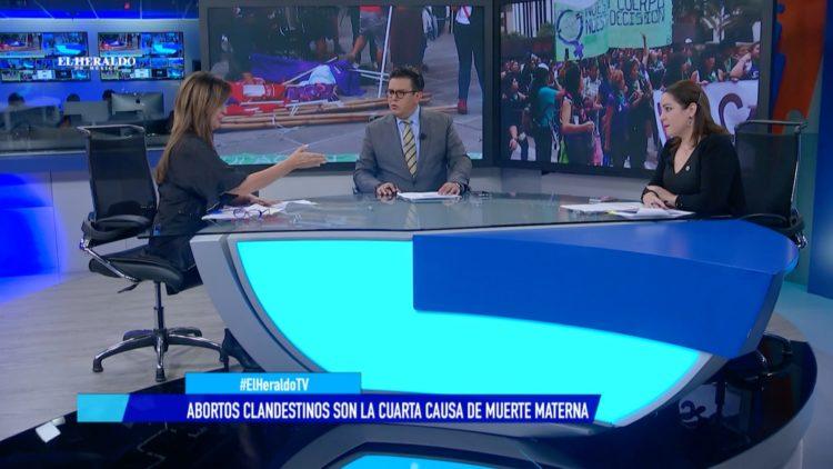 legalización aborto El Heraldo TV Noticias de la noche Salvador GarcÍa
