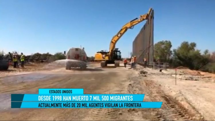 25 años del Muro frnterizo en EU y México