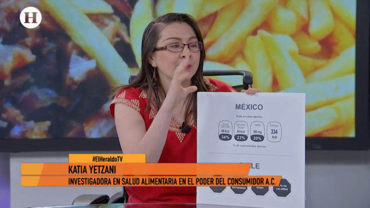 Pros Contras etiquetado alimento Katia Yetzani