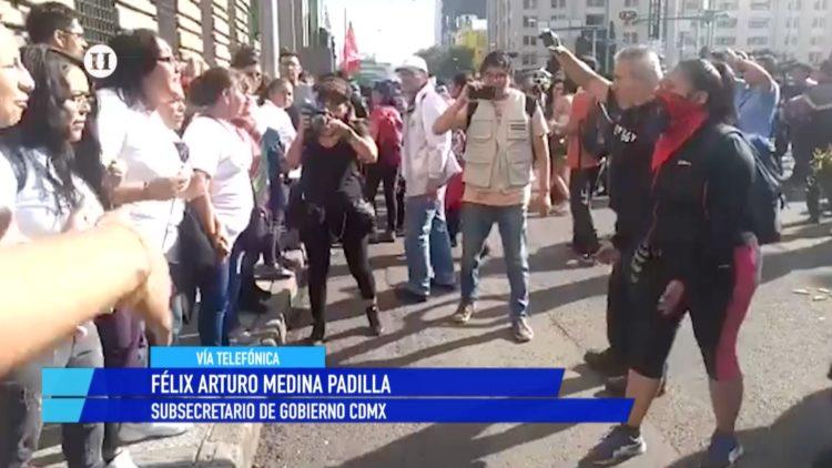 Félix Arturo Medina CDMX 2 de octubre 68 marcha El Heraldo TV