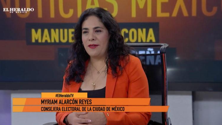 Myriam Alarcón Ley de Participación Ciudadana