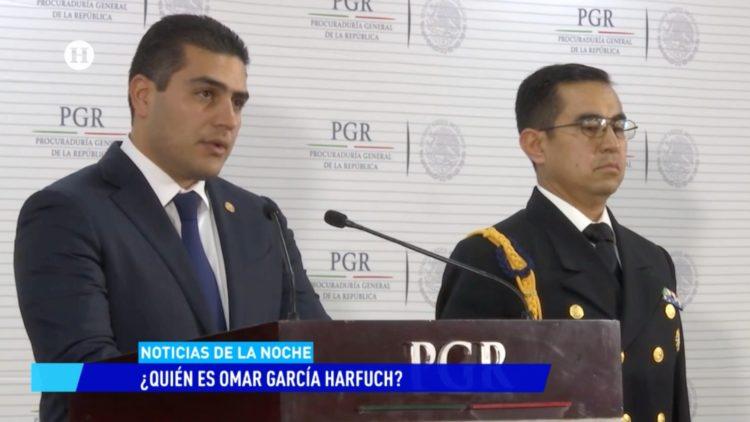 Omar García Harfuch SSC CDMX Noticias de la noche Salvador García Soto El Heraldo TV