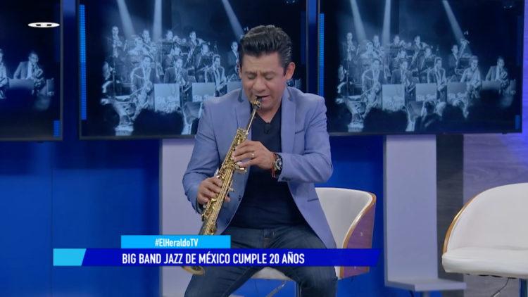 Big Band Jazz de México tocará en Auditorio Blackberry por su 20 aniversario