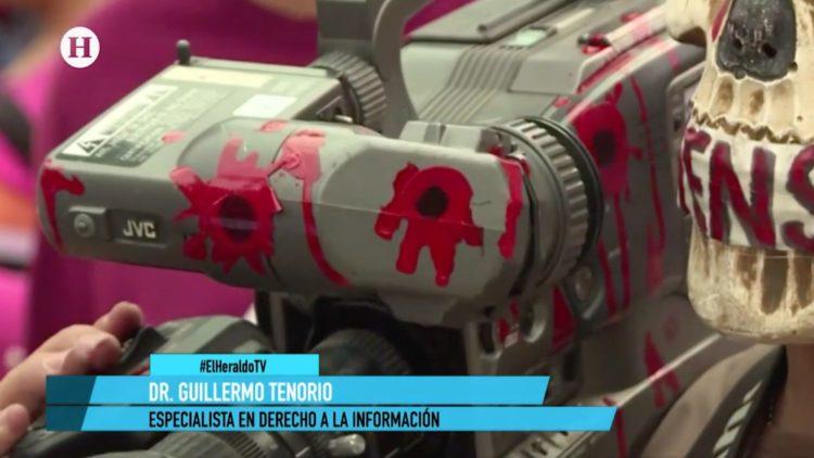 periodistas muertes El Heraldo TV primera emisión Guillermo Tenorio