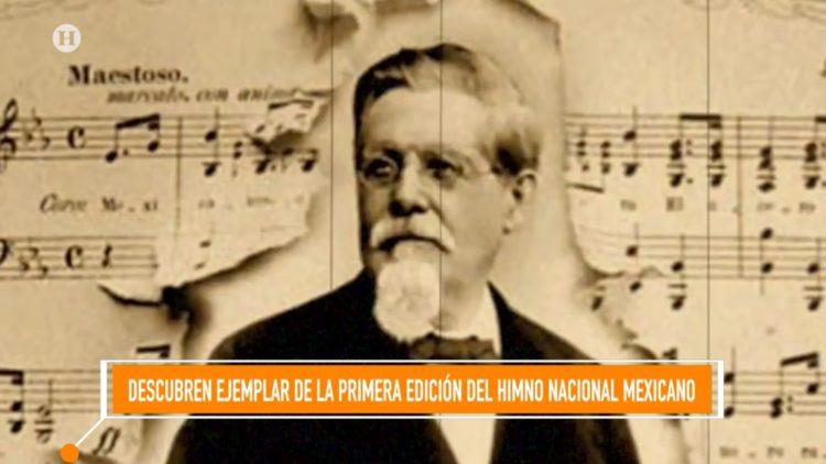 Himno Nacional Mexicano Jaime Nunó Santa Anna El Heraldo TV