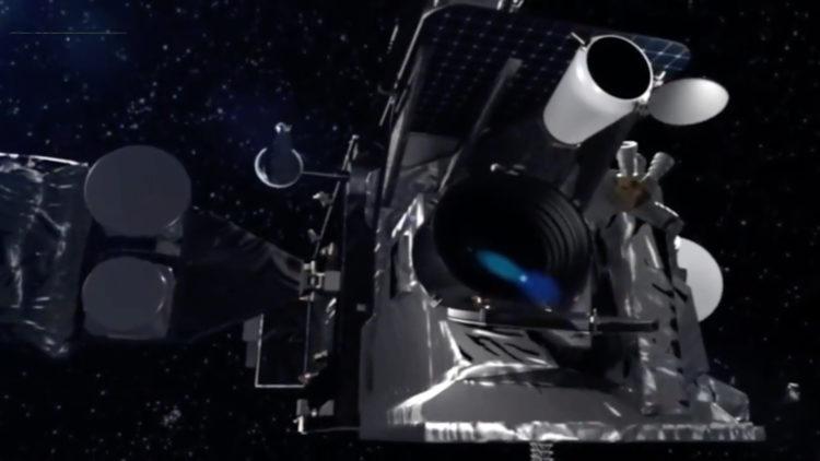 25 años órbita satélite _Solidaridad II_