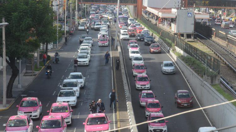 Marcha de taxistas