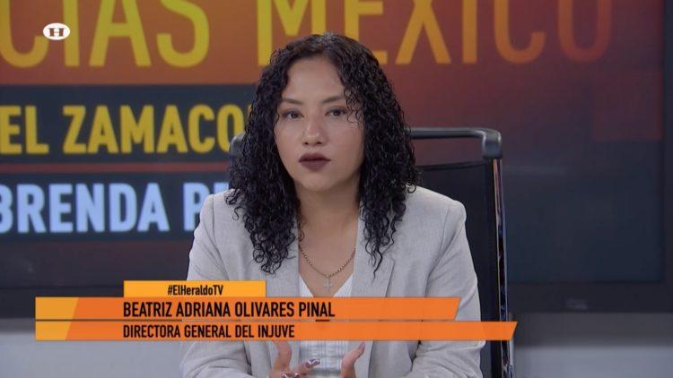 Injuve rock mujeres Álvaro Obregón Beatriz Adriana Olivares Pinal El Heraldo TV