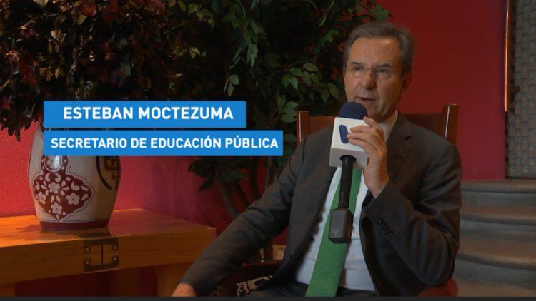 esteban Moctezuma en entrevista con el Heraldo de México