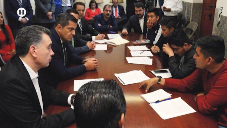 Ricardo Peralta Segob normalistas Milka Ramírez El Heraldo TV Noticias de la noche