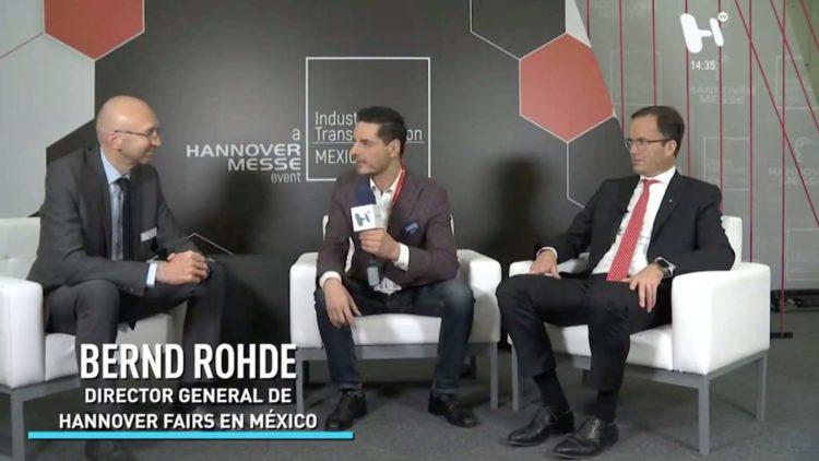 Bernd Rohde, director general de Hannover Fairs en México