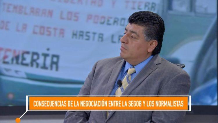 Julio Jiménez manifestaciones violencia El Heraldo TV Noticias México