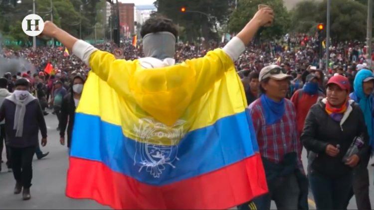 5 muertos protestas ecuador