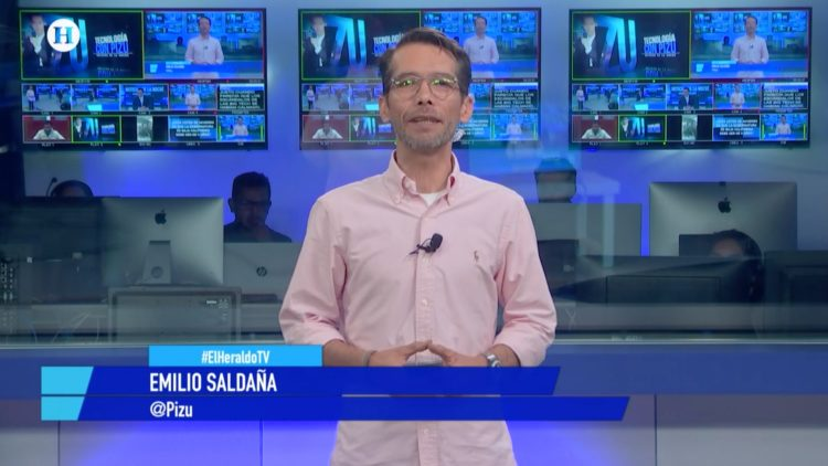 Emilio Saldaña _El Pizu_ Noticias de la noche Salvador García Soto